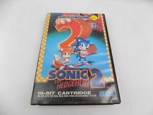 SEGA Mega Drive Sonic The Hedgehog 2 II - Free Postage