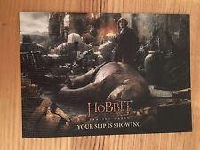 The Hobbit Battle Five Armies 63 Base Canvas Card 12/75