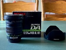 SMC Pentax-DA 12-24mm F/4 ED AL (IF) Autofocus PK Mount Zoom Lens With Hood
