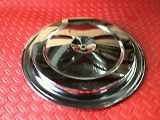 AIR CLEANER - FILTER LID GM CHROME CHEVY GMC STOCK OEM TRUCK AND CAR CORVETTE