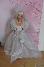 poupée Barbie vintage mariée année 199?