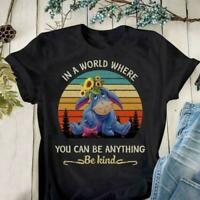 Eeyore In A World Where You Can Be Anything Be Kind Ladies Shirt Gift