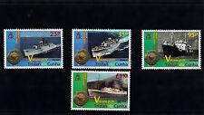 Tristan da Cunha 2013 MNH Volcano Part IV Ships 4v Set HMS Puma Tristania Jaguar