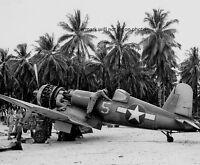 """U.S. Navy Vought F4U-1A Corsair Fighter Plane 8""""x 10"""" World War II Photo #89"""