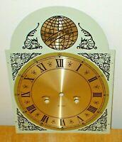 Vintage Tempus Fugit Ornate Grandfather Clock Dial / Face Original Part - Beauty