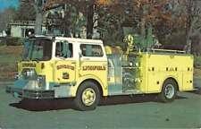 Lynnfield Massachusetts 1976 Mack GPM Diesel Tank Vintage Postcard K95225