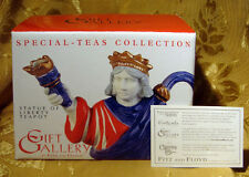 FITZ and FLOYD *STATUE OF LIBERTY* TEAPOT GIFT GALLERY COLLECTION NEW IN BOX
