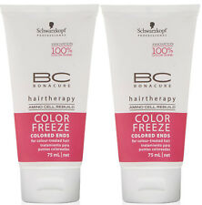 Schwarzkopf BC Bonacure Color Freeze SPLIT ENDS REPAIR SERUM (pack of 2) 75ml ea