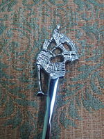 New Scottish Bagpipe Piper Kilt Pin Chrome Finish/Highland Piper Kilt Pin Brooch
