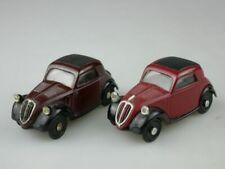 2x TOPOLINO 1936 1/43 FIAT 500 A dugu no 8 italy 117367