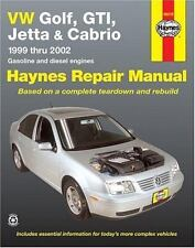 Haynes Manuals 96018 : VW Golf, GTI, Jetta and Cabrio, 1999 Thru 2005