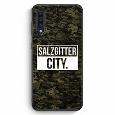 Salzgitter City Camouflage Samsung Galaxy A50 Silikon Hülle Motiv Design Deut...