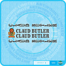 Claud Butler Bicycle Decals Transfers Stickers - Set 5