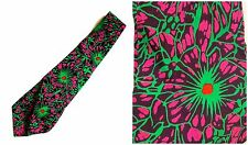 Vintage Psychiatrist Neck Tie Neurons Doctor Gift Silk Medical Grad Gift School
