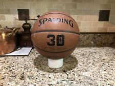 Official Spalding Limited 30th Anniversary NBA Game Ball Leather Basketball 29.5