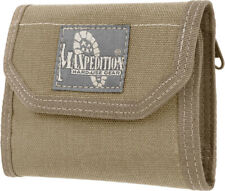 "Maxpedition CMC Wallet 0253K Closed, empty size: 5"" L x 3.5"" H x 1"" W. Open, emp"