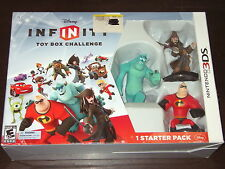 Disney Infinity Nintendo 3Ds Toy Box Challenge Starter Pack Sealed