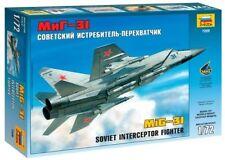 Zvezda 7229 Soviet Interceptor Fighter MiG-31 1/72