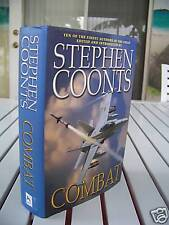 COMBAT BY STEPHEN COONTS HARDCOVER
