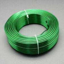 2mm Aluminium Craft Florist Wire Jewellery Making Green 3m lengths