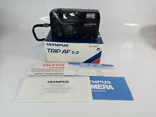 RARE BOXED Olympus Trip AF S-2 Compact Point & Shoot  35mm Camera