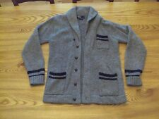 Vintage, RUGBY RALPH LAUREN POLO  Shawlneck Cardigan/Varsity Collegiate/ SWEATER