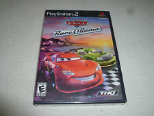 BRAND NEW FACTORY SEALED PLAYSTATION 2 DISNEY PIXAR CARS RACE O RAMA THQ PS2 NFS