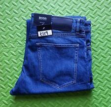 Hugo Boss Smart Blue Jeans W34 L34 34/34 Mens MAINE 3 Stretch