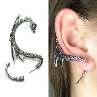 Unisex Stainless Steel Hoop Ear Ring Stud Earrings Mens Women Punk Jewelry Gift