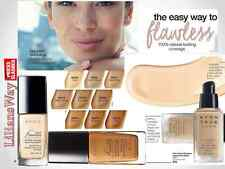 Avon Ideal Flawless Invisible Coverage Liquid Foundation SPF15~FULL SIZE~SALES
