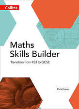 Maths Skills Builder: Transition from KS3 to GCSE (Collins GCSE Maths), Good Con