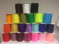 25 Yard/23 mtr Scanes Of Sheer Organza Ribbon - 6 mm width - Many Colours