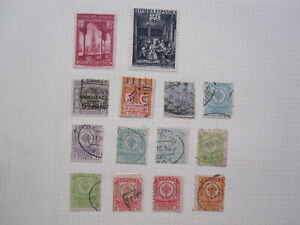 Spain - 14 Revenue / Duty stamps - mostly used - unchecked