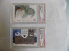 Raymond Floyd PSA 9 2002 SP Signature Swings Autograph (Free Bonus PSA 9 Fabric)