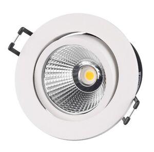 Philips ClearAccent RS061B 6W 500 Lumen 3000K schwenkbar LED Einbauleuchte weiß