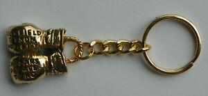RARE 1991 Holyfield Tyson Caesars Palace TVKO Boxing Gloves Keychain key chain