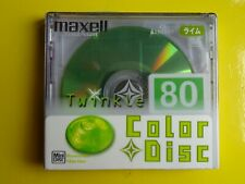 1 Brand New MAXELL MD80 Twinkle Minidisc - Factory sealed