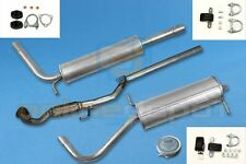 Full exhaust from CAT SEAT IBIZA IV 6L1 1.2 12V Hatchback 2002-2005