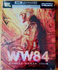 Wonder Woman 1984 Steelbook (4K UHD/Blu-ray/Digital) BRAND NEW, SEALED* Best buy