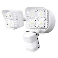 SANSI LED Security Motion Sensor Outdoor Light, 30W (250W Equiv.) White Square