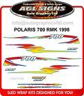 1998 POLARIS INDY RMK 700 HOOD DECALS graphics