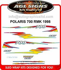 1998 POLARIS INDY RMK 700  Reproduction  Decal Kit