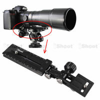 Long-Focus Lens Bracket Holder Camera Quick Release Plate for Tripod Mount Ring