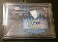 #11/15 JAMES WHITE 2014 Bowman Sterling ROOKIE AUTO BLUE WAVE PATRIOTS