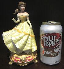 RARE Disney Princess Belle Beauty and the Beast Ceramic Porcelain Figure Statue