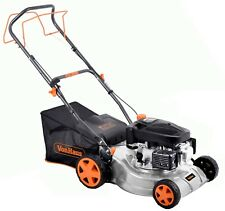 """VonHaus Petrol Lawnmower 16"""" Self-Propelled Drive With 5 Cutting Heights"""