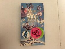 Dr. Seuss's The 5000 Fingers of Dr. T VHS Movie Tape Film 1991