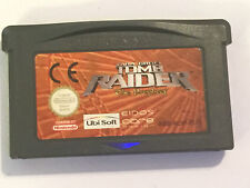 NINTENDO GAMEBOY GAME BOY ADVANCE GBA Cartuccia di giochi TOMB Raider The Prophecy