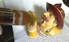 Wine Bottle Holder Firefighter Fireman drinking Bottle Holder Heavy Sturdy   #99