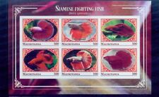 mauritania / 2018 siamese fighting fishes/mnh.good condition